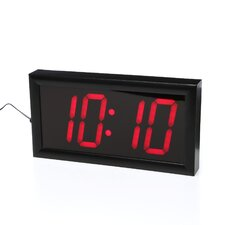 "Jumbo 4"" Numbers LED Digital Alarm Clock with Remote"