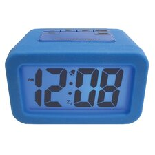 "Advance Time 1.25"" Silicone LCD Alarm Clock"