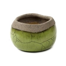 Small Green Decorative Pot