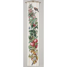 Four Seasons Bell Pull Counted Cross Stitch