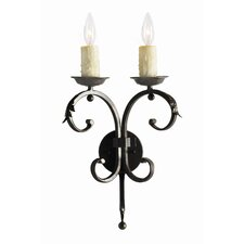 Andorra 2 Light Wall Sconce