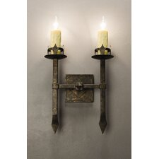 Castilla 2 Light Wall Sconce