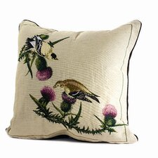 Bird Watchers Goldfinch Pillow