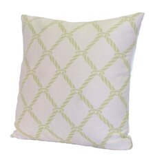 Nautical Rope Polyester Stuffed Pillow