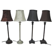 Assorted Buffet Table Lamp (Set of 4)