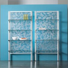 "Envision® 84"" H Shelving System with Insert Panel and 4 Adjustable Shelves"