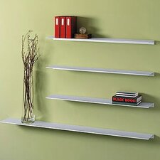 Envision® Wall Mounted Aluminum Shelf