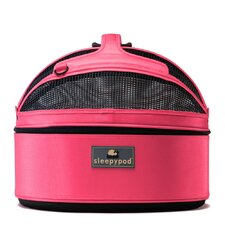 Mobile Pet Bed/Carrier in Blossom Pink