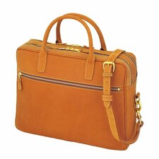 Leather Negotiator Briefcase