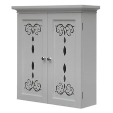 Dallia Wall Cabinet with 2 Doors