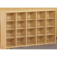 Eco Laminate Preschool Sectional Storage
