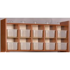 Eco Laminate Diaper Wall Storage with Trays
