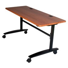 "Cherry Lumina 60"" Flip Top Table"