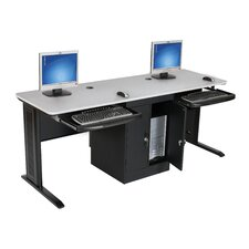LX-Series Workstation in Gray and Black