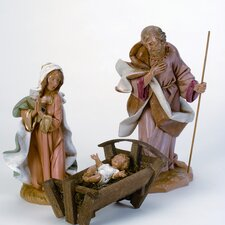Three Piece Holy Family Figurines Set