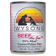 Au Jus™ Canned Beef Diet Wet Dog / Cat Food