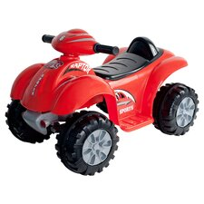 Raptor 4 Wheeler Car in Red