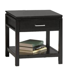 Sutton End Table in Black