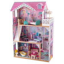 Annabelle Dollhouse in Pink
