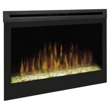 "33"" Self Trimming Electric Firebox in Black"