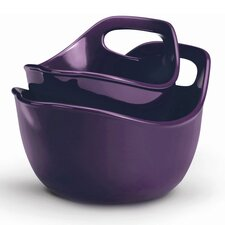 Rachael Ray 2 Piece Mixing Bowl Set in Purple