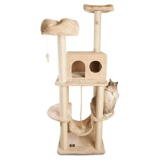 "76"" Cat Tree in Beige II"