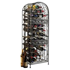 Renaissance 45 Bottle Wine Rack in Antique Bronze