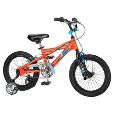 Scorch Mountain Bike with Training Wheels in Orange
