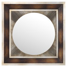 Bella Mirror in Distressed Brown