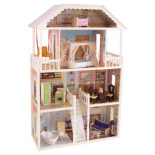 Savannah Dollhouse Set in PInk