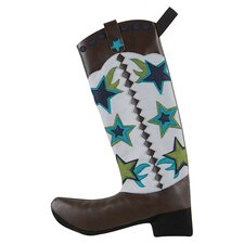 Jingle Bell Rock City Slicker Boot Stocking