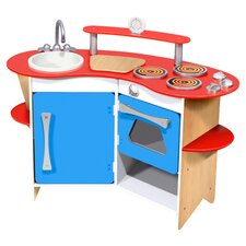 Cook's Corner Wooden Kitchen Set