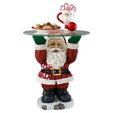 Santa Claus Sculptural Holiday Table