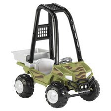 Camo Utility ATV in Green & Black