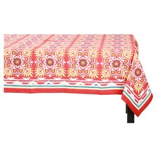Salsa Table Cloth in Cayenne Red