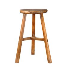 "Farmhouse 20"" Stool in Natural"
