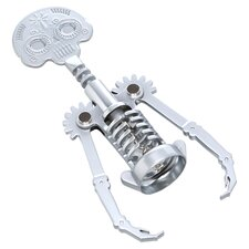 Day of the Dead Corkscrew in Silver