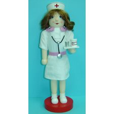 Nurse in Uniform Nutcracker