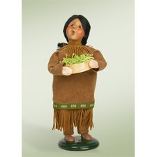 Native American Girl Figurine