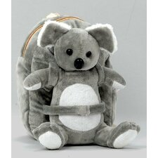 Small Plush Koala Backpack