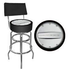 Camaro Padded Bar Stool with Back