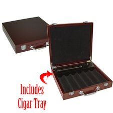 Cigar Tray Poker Chip Case