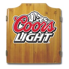 Coors Light Dart Cabinet Set