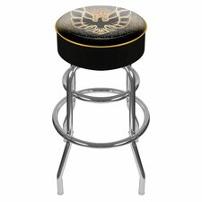 "31"" Pontiac Firebird Padded Swivel Bar Stool"
