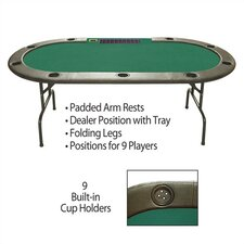 "96"" Hold'em Table With Dealer Position"