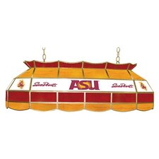"NCAA 40"" Stained Glass Lighting Fixture"