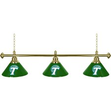 NCAA 3 Light Billiard Lamp
