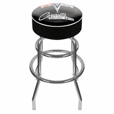 Corvette C2 Padded Swivel Barstool