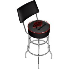 Fender Rock 'N Roll Padded Barstool with Back