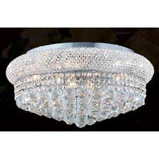Empire 10 Light Flush Mount